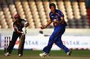 Arul Suppiah falls for a duck to CJ de Villiers, Eagles v Somerset, Champions League Twenty20, League A, Hyderabad, October 16, 2009