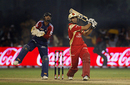 Ross Taylor dispatches another one for six, Bangalore Royal Challengers v Delhi Daredevils, Champions League Twenty20, League B, Bangalore, October 17, 2009