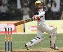 Hashan Perera goes on the attack, Mahanama College v St. Joseph's College, Glucofit Cricket Sixes, Colombo, October 18, 2009