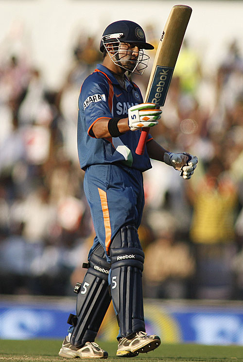 Gautam Gambhir acknowledges his fifty