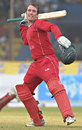 Brendan Taylor rejoices on getting to a hundred