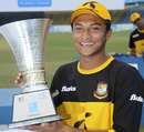 Shakib Al Hasan is all smiles after clinching the series 4-1