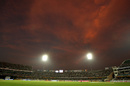 The Rajiv Gandhi International Stadium under lights, India v Australia, 5th ODI, Hyderabad, November 5, 2009