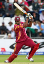 Kieron Pollard carves one through the off side, Sri Lanka v West Indies, ICC World Twenty20, Trent Bridge, June 10, 2009