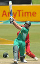Albie Morkel launches it to cow corner