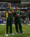 Younis Khan and Imran Farhat are left to reflect, Pakistan v New Zealand, 3rd ODI, Abu Dhabi, November 9, 2009