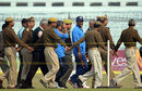 Security guards shadow MS Dhoni