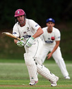 Brad Wilson on-drives, Auckland v Northern Districts, Plunket Shield, Auckland, 1st day, December 3, 2009