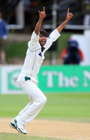 Mohammad Asif rocked New Zealand, New Zealand v Pakistan, 2nd Test, Wellington, 4th day, December 6, 2009