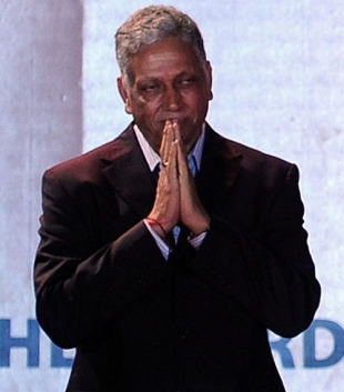 Mohinder Amarnath at the BCCI's annual awards function, Mumbai, December 6, 2009