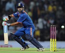 Gautam Gambhir opens the face of his bat, India v Sri Lanka, 1st Twenty20, Nagpur, December 9, 2009
