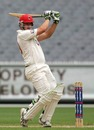 James Smith pulls during his half-century, Victoria v South Australia, Sheffield Shield, Melbourne, 1st day, December 10, 2009