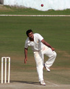 Himachal Pradesh's Kuldeep Diwan bowls against Orissa, Himachal Pradesh v Orissa, Ranji Trophy Super League, Group A, Dharamsala, December 16, 2009