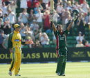 Mohammad Ashraful celebrates his century against Australia, Australia v Bangladesh, NatWest Series, Cardiff, June 18