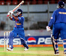 Sanath Jayasuriya cuts loose, India v Sri Lanka, Coca-Cola Champions Trophy, final, Sharjah, October 29, 2000