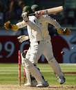 Faisal Iqbal is bowled for 48, Australia v Pakistan, 1st Test, Melbourne, 4th day, December 29, 2009