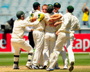 Nathan Hauritz seals Australia's thumping win, Australia v Pakistan, 1st Test, Melbourne, 5th day, December 30, 2009