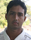 Bikas Pati, player portrait, December 2009