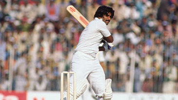 Javed Miandad on his way to 50