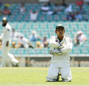 Kamran Akmal looks dejected after dropping Peter Siddle, Australia v Pakistan, 2nd Test, Sydney, 4th day, January 6, 2010