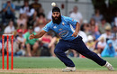 Auckland's Bhupinder Singh fields off his own bowling, Auckland v Central Districts, HRV Cup, Auckland, January 10, 2010