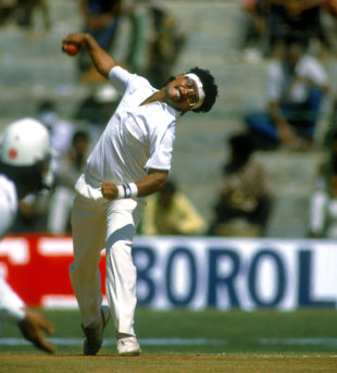 Hirwani: 16 wickets at the age of 19