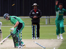 Rabian Engelbrecht snares a wicket,  Ireland Under-19s v South Africa Under-19s, 3rd Match, Group B, ICC Under-19 World Cup, Queenstown, January 15, 2009