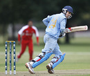 Rahul Kannaur made an unbeaten 62 for India, India Under-19s v Hong Kong Under-19s, 11th Match, Group A, ICC Under-19 World Cup, Christchurch, January 17, 2010