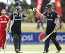 Tom Latham and Harry Boam added a century stand, New Zealand Under-19s v Zimbabwe Under-19s, 19th Match, Group C, ICC Under-19 World Cup, Lincoln, January 19, 2010