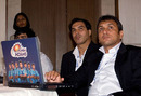 Rahul Sanghvi and Robin Singh keep an eye on proceedings, Mumbai, January 19, 2010