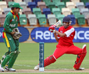 Hong Kong U19's Waqas Barkat is bowled trying to reverse-sweep, Bangladesh Under-19s v Hong Kong Under-19s, 9th Place Play-off Quarter-Final, ICC Under-19 World Cup, Napier, January 24, 2010