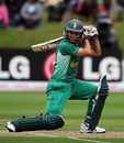Josh Richards square-drives during South Africa's capitulation, South Africa Under-19s v Sri Lanka Under-19s, 2nd Quarter-Final, ICC Under-19 World Cup, Lincoln, January 24, 2010