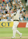 Mark Waugh scored a hundred on debut, Australia v England, 4th Test, Adelaide, 1st day, January 25, 1991