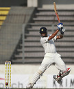 Rahul Dravid cuts in typical fashion during his century