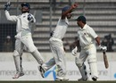MS Dhoni jumps for joy after getting rid of Mohammad Ashraful
