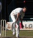Fast bowler Dewald Nel finished with three wickets by the end of the third day, Kenya v Scotland, ICC Intercontinental Cup, Nairobi, 3rd day, January 27, 2010