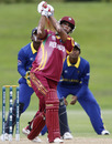 John Campbell goes over the top during his 77, Sri Lanka v West Indies, ICC Under-19 World Cup, 3rd place play-off, Christchurch, 29 January, 2010
