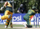 Jason Floros was run out at a crucial time for Australia, Australia v Pakistan, Under-19 World Cup final, Lincoln, 30 January, 2010