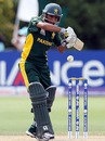 Rameez Aziz managed 23 but fell at a crucial stage, Australia v Pakistan, Under-19 World Cup final, Lincoln, January 30, 2010
