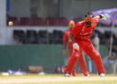 Ashish Bagai aims for the stumps
