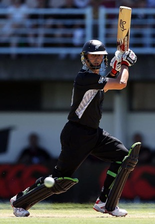 Peter Ingram scored a half-century on debut, New Zealand v Bangladesh, 1st ODI, Napier, February 5, 2010