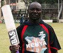 Steve Tikolo celebrates his half-century, Kenya v Scotland, Kenya T20 Tri-Series, 6th match, Nairobi, February 4, 2010