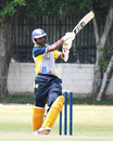 Chinthaka Jayasinghe pulls during his unbeaten 69, Basnahira North v Kandurata, Sri Lanka Cricket Inter-Provincial Limited Over Tournament, Colombo, February 6, 2010