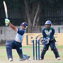 Chathura Peiris goes on the attack, Sri Lanka Cricket Combined XI v Wayamba, Sri Lanka Cricket Inter-Provincial Limited Over Tournament, Colombo, February 9, 2010