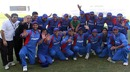The Afghanistan squad celebrate their victory over Scotland, Afghanistan v Scotland, ICC World Twenty20 Qualifiers, Abu Dhabi, February 10, 2010