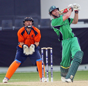 Alex Cusack was the foundation of Ireland's innings with a man-of-the-match winning 65, United Arab Emirates v Afghanistan, ICC World Twenty20 Qualifier, Super Four, Dubai, February 13, 2010