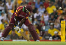 Wavell Hinds digs out a yorker