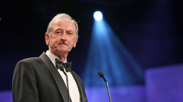 Bill Lawry is inducted into the Australian Cricket Hall of Fame