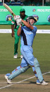 Andy Blignaut hits another boundary during his rapid half century against Mountaineers, Mountaineers v Matabeleland Tuskers, Harare, February 13, 2010