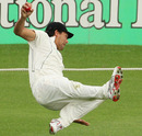 Daryl Tuffey completes a good catch to dismiss the rampant Tamim Iqbal